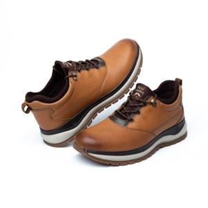 Zapato Flexi Country Para Outdoor Flexi Country Con Sistema De Mejor Agarre Para Hombre - Estilo 401001 Tan