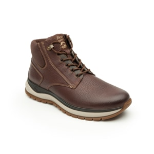 Bota Flexi Country Para Outdoor Flexi Country Con Sistema De Mejor Agarre Para Hombre - Estilo 401002 Chocolate