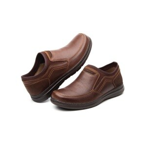Mocasín Casual Flexi Con Sistema Walking Soft Para Hombre - Estilo 50603 Chocolate