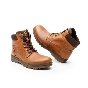 Bota Para Outdoor Flexi Country Con Sistema Walking Soft Para Hombre - Estilo 50701 Tan