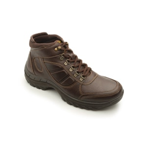 Bota Para Outdoor Flexi Country Con Ganchos Para Hombre - Estilo 66510 Chocolate